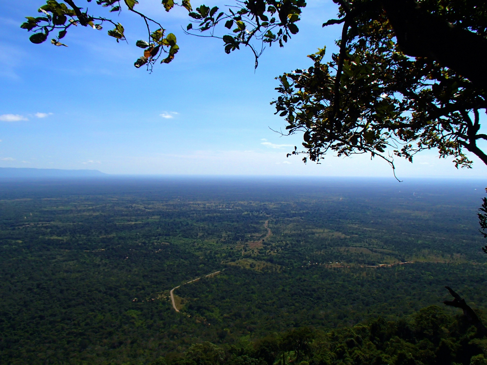 The view look from Preah Vihear temple